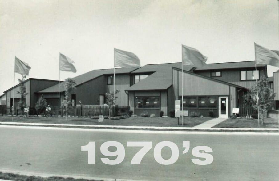 Fulford Homes house in 1970