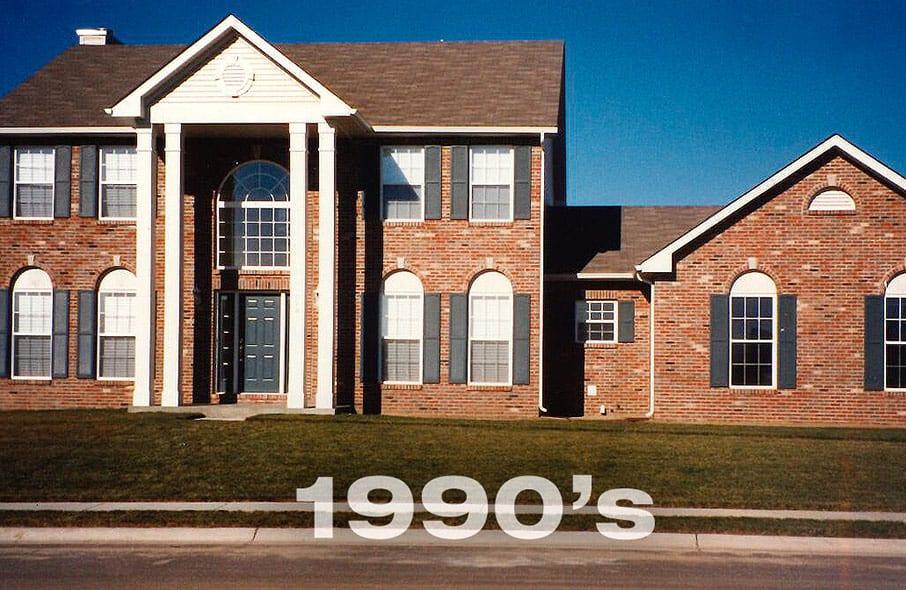 Fulford Homes house in 1990s