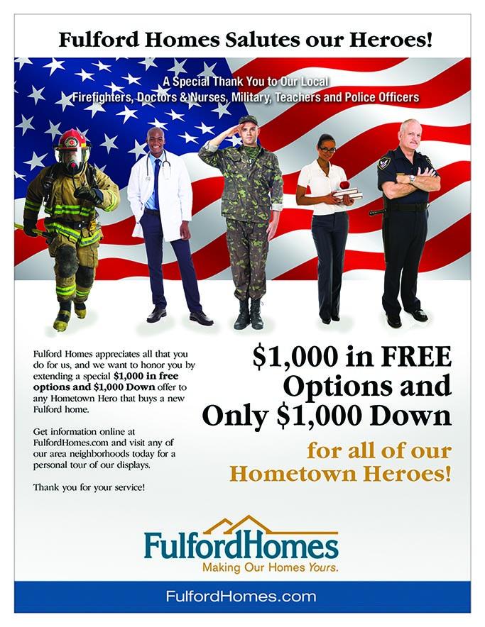 Hometown Heroes Specials